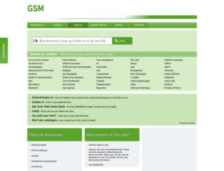 gsm.startkabel.nl screenshot