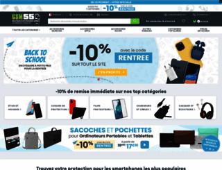 gsm55.com screenshot