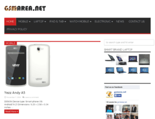 gsmarea.net screenshot