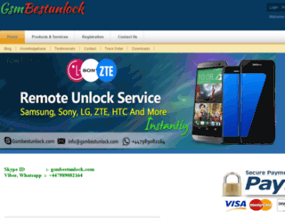 gsmbestunlock.com screenshot
