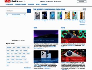 gsmchoice.com screenshot