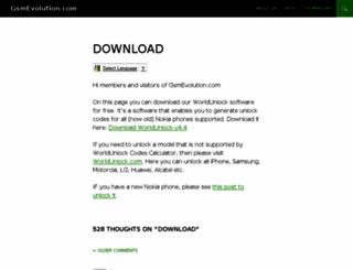gsmevolution.com screenshot