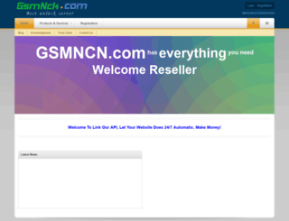 gsmnck.com screenshot
