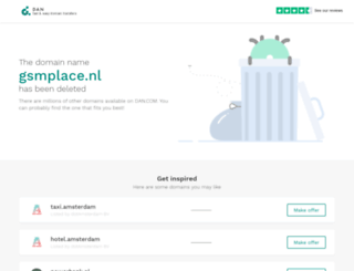 gsmplace.nl screenshot