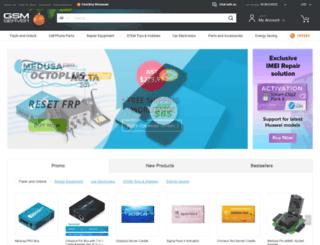 gsmserver.com screenshot