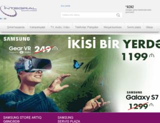 gsmservice.az screenshot