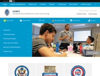 gsmst.org screenshot