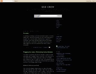 gsocrew.blogspot.com screenshot