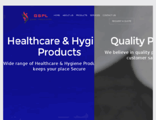 gsplcareproducts.com screenshot
