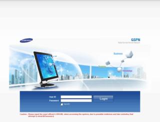 gspn4.samsungcsportal.com screenshot