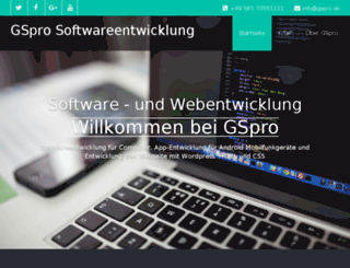 gspro.de screenshot