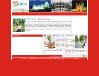 gsrkestates.com screenshot