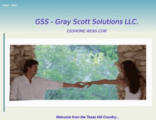 gsshome.webs.com screenshot