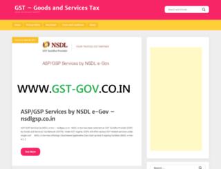 gst-gov.co.in screenshot