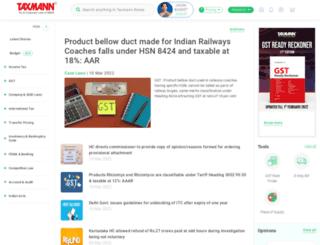 gst.taxmann.com screenshot