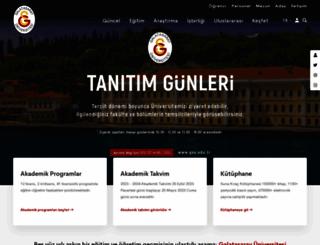 gsu.edu.tr screenshot