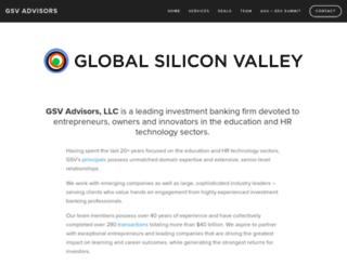 gsvadvisors.com screenshot