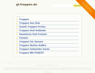 gt-treppen.de screenshot
