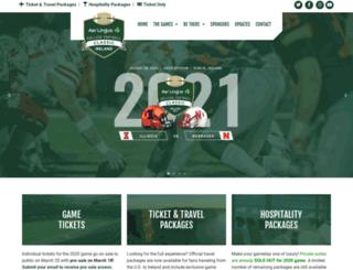 gt.collegefootballireland.com screenshot