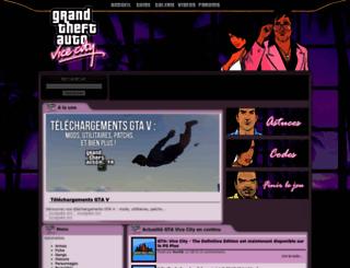 gta-vicecity.fr screenshot