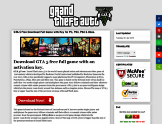 gta5freegames.blogspot.in screenshot