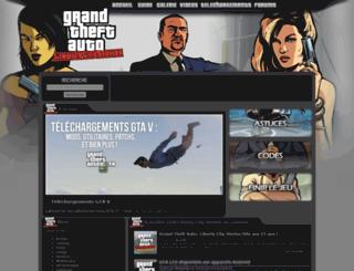 gtalibertycitystories-fr.net screenshot