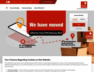 gtbankuk.com screenshot