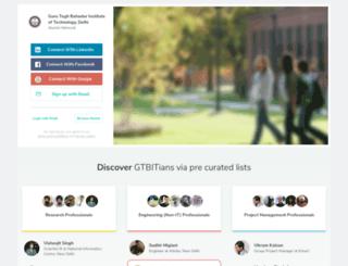 gtbit.almaconnect.com screenshot
