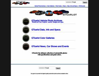 gtcarlot.com screenshot