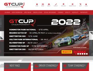 gtcup.co.uk screenshot