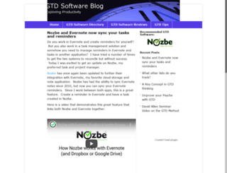 gtdsoftware.net screenshot