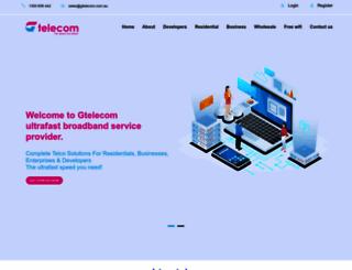 gtelecom.com.au screenshot