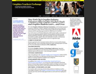 gtexchange.org screenshot