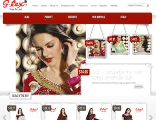 gtexsarees.com screenshot