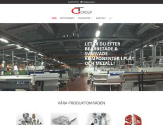 gtgroup.se screenshot