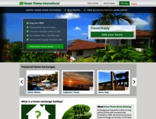 gti-home-exchange.com screenshot