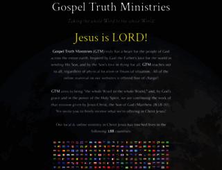 gtm.org screenshot