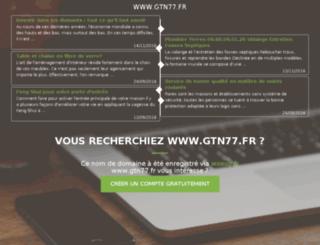 gtn77.fr screenshot