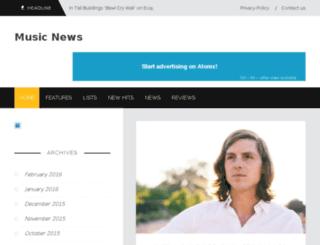 gtp-music.com screenshot
