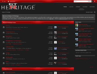 gtrheritage.com screenshot