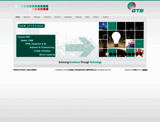 gtsuae.com screenshot