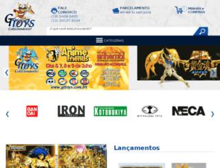 gttoys.com.br screenshot