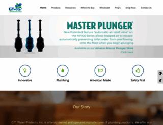 gtwaterproducts.com screenshot