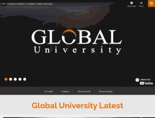 gu.edu.lb screenshot
