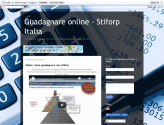 guadagnareconstiforp.blogspot.it screenshot