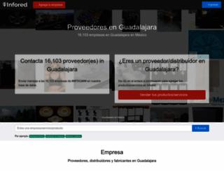 guadalajara.infored.com.mx screenshot
