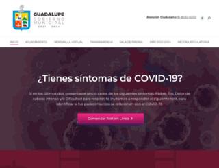 guadalupe.gob.mx screenshot