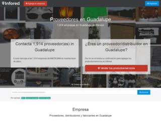 guadalupe.infored.com.mx screenshot