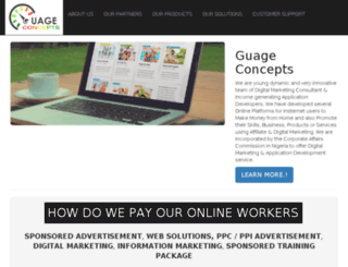 guageconcepts.com screenshot