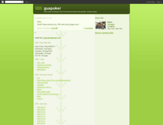 guapoker.blogspot.com screenshot